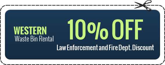 10% off coupon for law enforcement and fire dept.